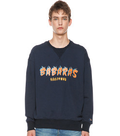 Navy Flame Sweatshirt