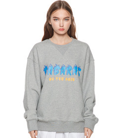 Gray Flame Sweatshirt